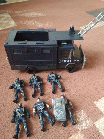 Военная база, техника, набор, полицейских,самолет