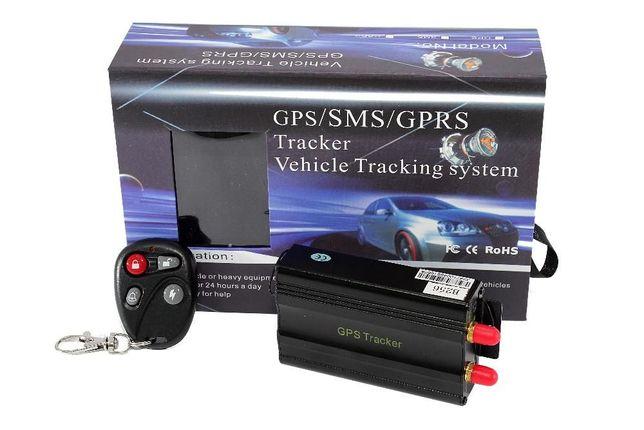 GPS103B Rastreador localizador GPS veículos, corte de corrente via sms