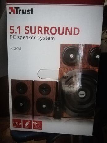 Sistema Som Trust 5.1 Surround