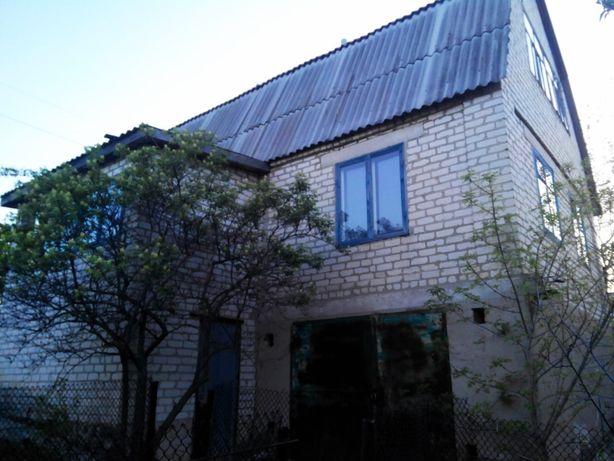 Двухэтажная дача на Лутугинском водохранилище. Обмен на авто