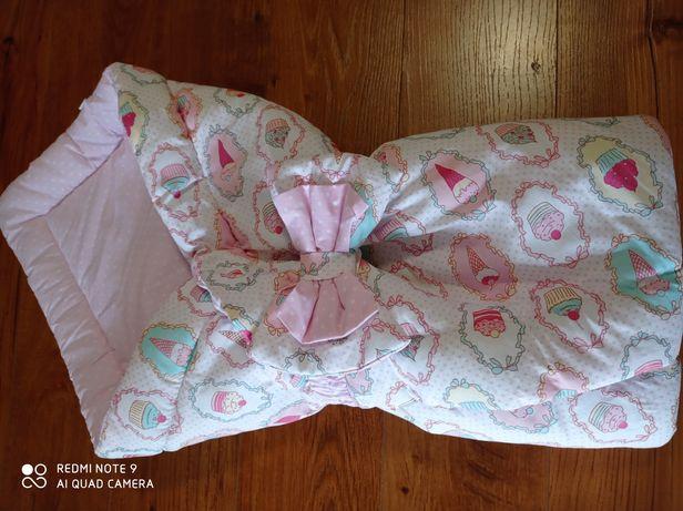 Конверт - ,одеяло для новорожденной