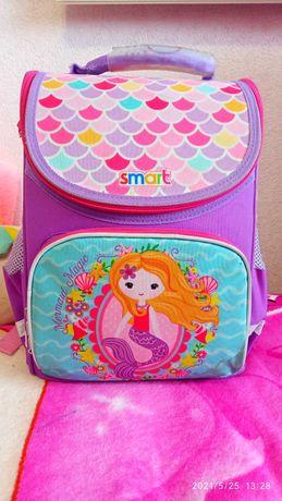 Каркасный школьный рюкзак Smart для начальной школы, для девочки
