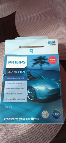 Żarówki LED H7 6000K Philips Ultinon Essential