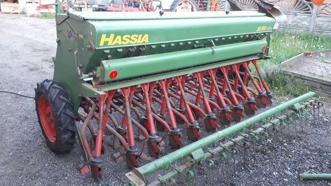 SIEWNIK do zboża 2,5m HASSIA DU100 rozdrabniacz trawy mulczer DL3m