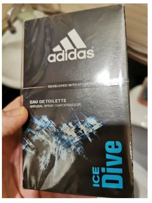 Woda Adidas Ice Dive 100ml