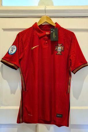 Camisola Portugal Nike Vapor match 1º equipamento (Nova-Com etiquetas)