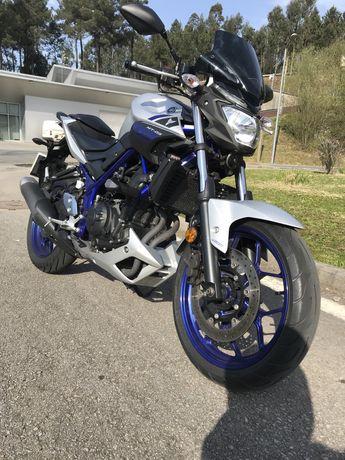 Yamaha MT03 de 2016