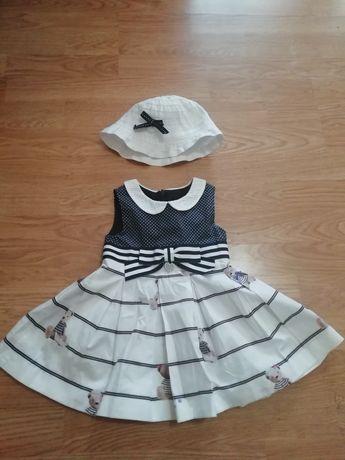 Платье для девочки 9мес, 74см
