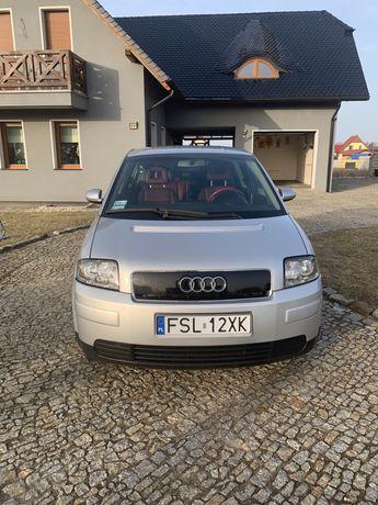 Audi A2 skóry ,elektr.fotele,climatronik r.2001