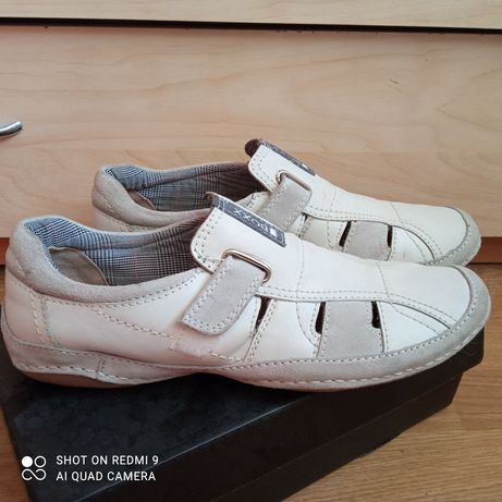 Летние туфли мокасины
