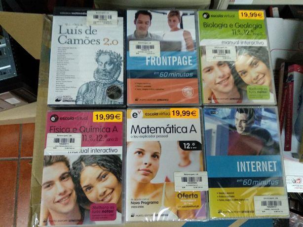 Diverso Software Educativo - Escola Virtual, Cursos, Enciclopédias,etc