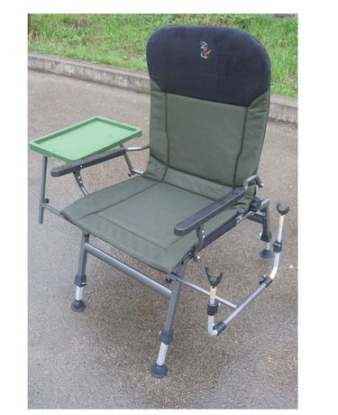 Большое 150кг кресло FK5 STP со столиком мощное Elektrostatyk Польша