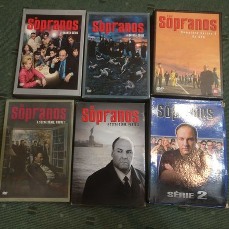 Os Sopranos - Lote 6 temporadas - 28 DVD