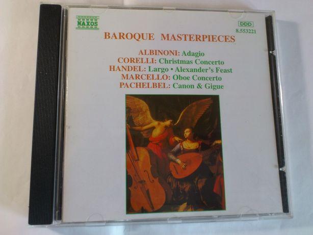 CD baroque masterpieces (фирменный)