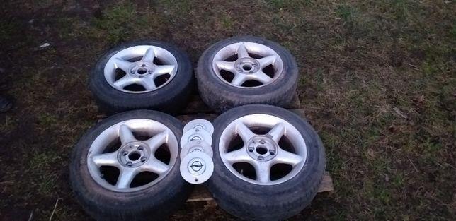 FELGI ALUMINIOWE 4 X 100 4x100 R15 R 15 Opel + Dekielki