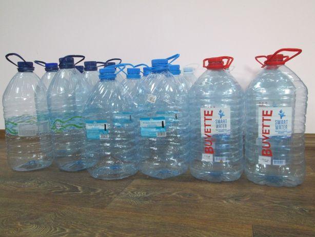 5ти и 6ти литровые ПЕТ бутылки. Баклаги для воды.
