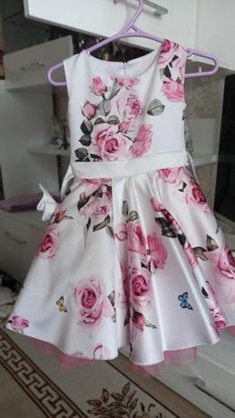 Выпускное платье на девочку 6-7 лет