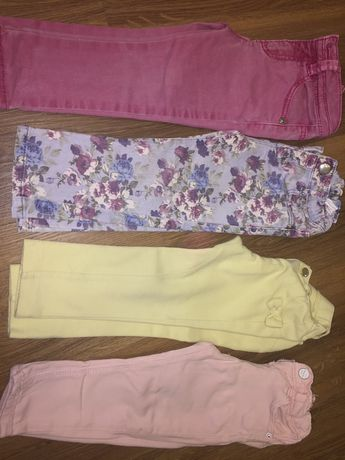 Varias calcas de menina benetton,zara e Mayoral