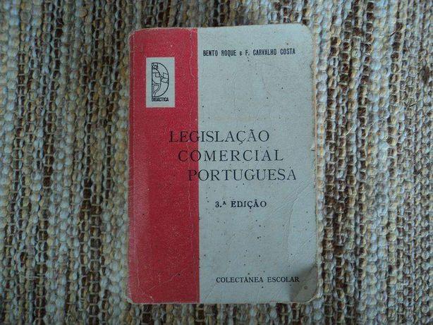 Livro Legislação Comercial Portuguesa