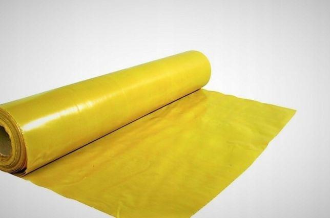 Folia żółta, pod panele, ale nie tylko. Zostało ponad 70m2