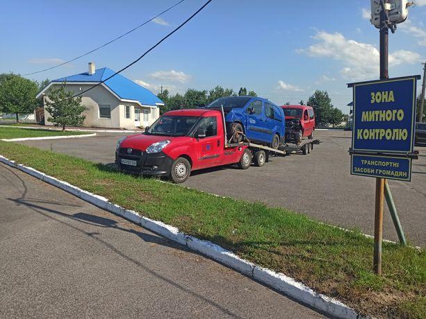 Фіат Добло Fiat Doblo 2014р.в. евакуатор можлива рассрочка