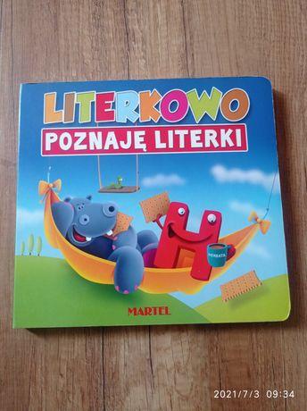 Książka Literkowo - poznaje literki