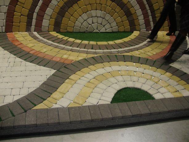 Благоустройство территории , укладка тротуарной плитки, Тротуарная пли