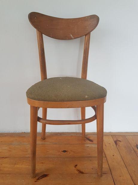 Krzeslo PRL z fabryki mebli giętych w Jasienicy