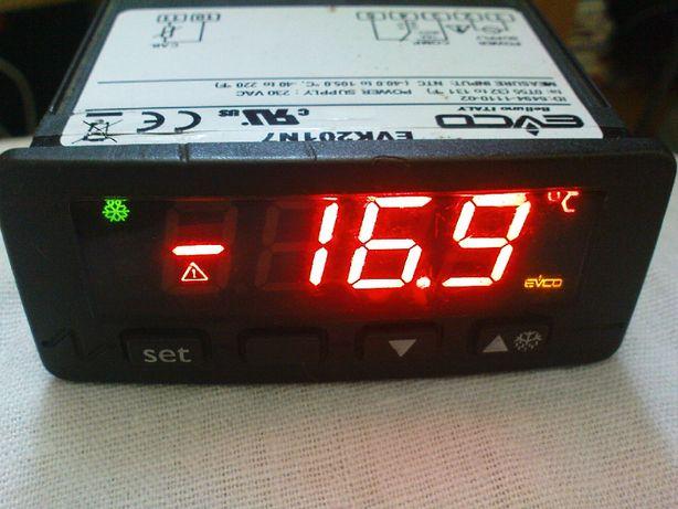 Termometr elektron. EVK201N7 z termostatem EVCO italy