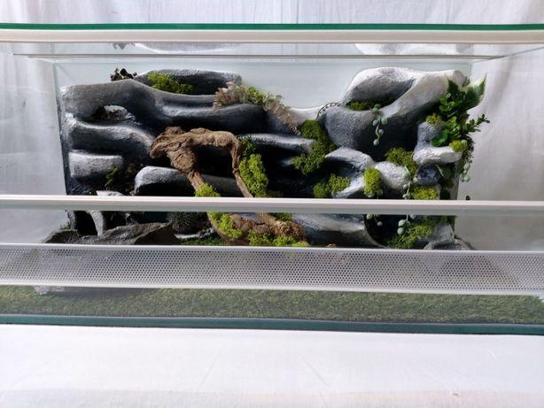 Terrarium AquaWaves nr.kat.TW08KA(wąż gekon lamparci jeż żółw agama)