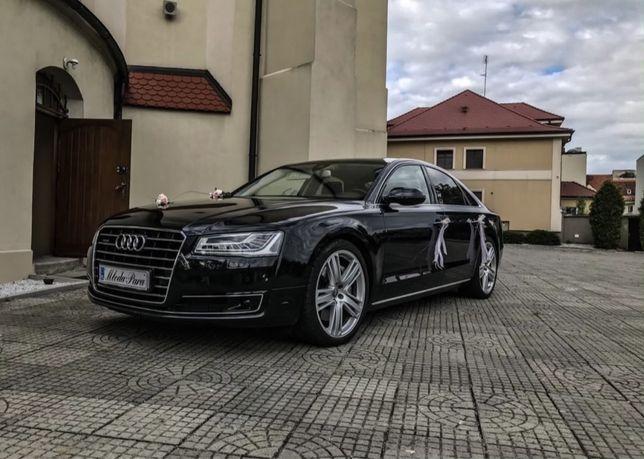 Auto do ślubu wesele Audi a8