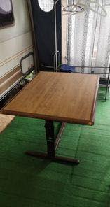 stół do przyczepy kempingowej