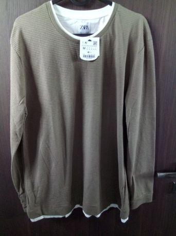Koszulka z długim rękawem Zara