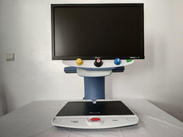 """Ampliador de imagem TOPAZ XL 20 """" / baixa visão"""