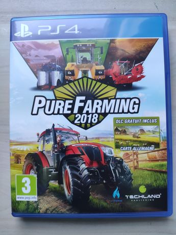 Pure Farming 2018 PL płyta ps4 ps5 playStation 4 5 ps 4 ps 5