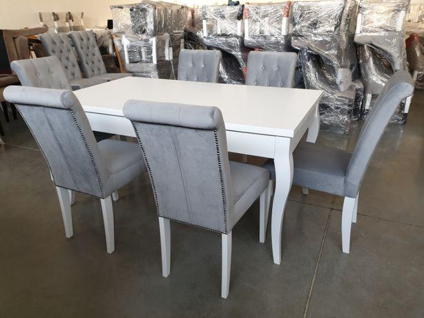 Krzesło chesterfield pikowane tapicerowane glamour modne PRODUCENT