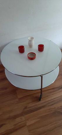 Stół/stolik szklany IKEA 2 szt IDEALNE