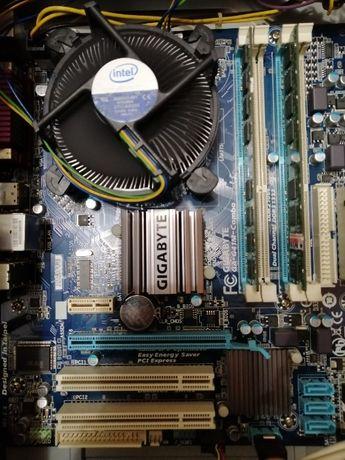 Мат. плата Gigabyte GA-G41M-COMBO s775 DDR2/DDR3