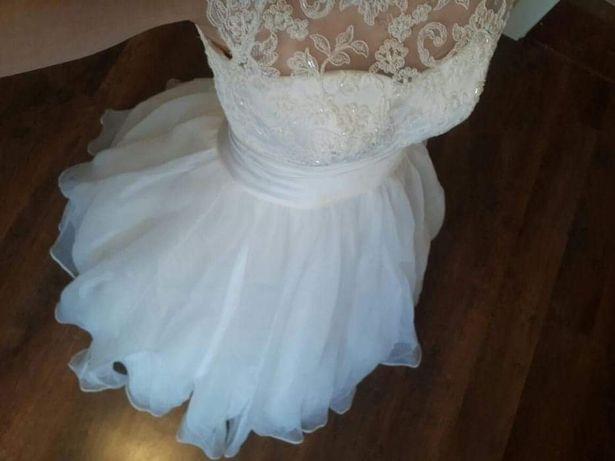 Suknia ślubna r. S/ XS