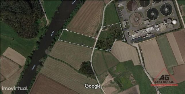 Terreno Rústico de 19.350m² junto ao Rio Ave em Tougues, Vila do Conde