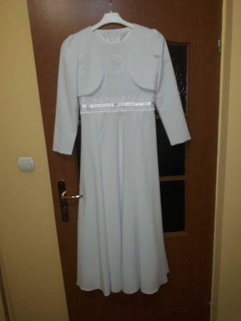 Sukienka + bolerko do komuni gratis torebka