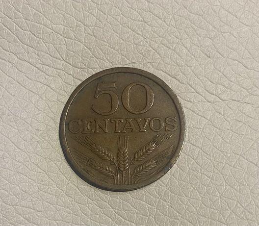 Moedas 50 Centavos