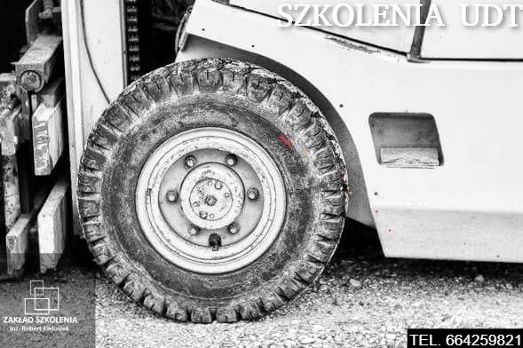 kurs na wózki widłowe bhp SEP HDS zwyżki ładowarki Nowy Targ