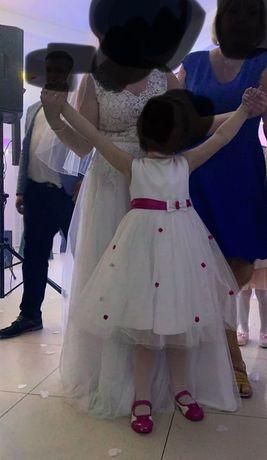 Piękna sukienka dla małej księżniczki rozm. 116 !!!