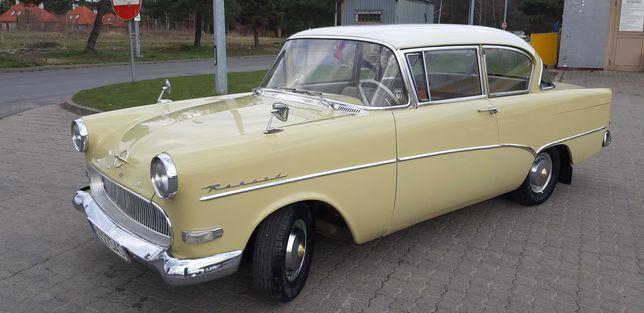 Opel Olimpia-Rekord, 1957r., wymiana na kampera