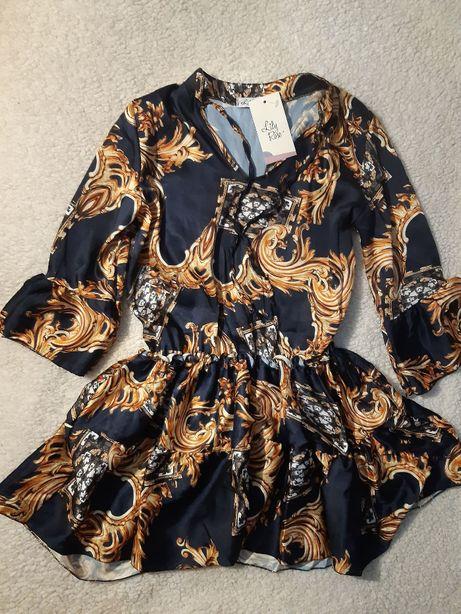 Sprzedam nową, granatową sukienkę Lily Rose