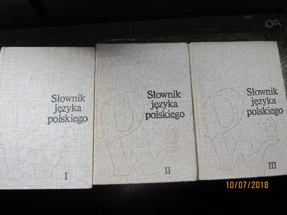 Słownik języka polskiego 1978r Pajęczno - image 1