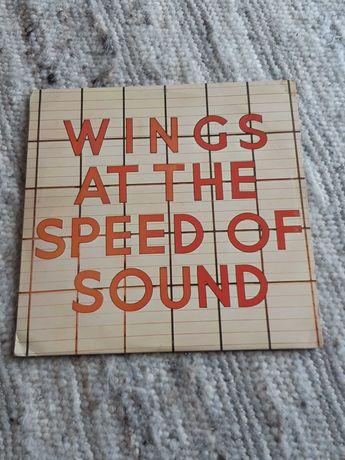 Paul McCartney LP Wings at the Speed of Sound winyl Beatles