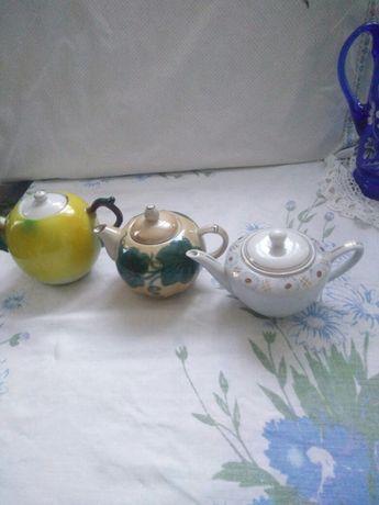 Посуда СССР чайнички фарфор