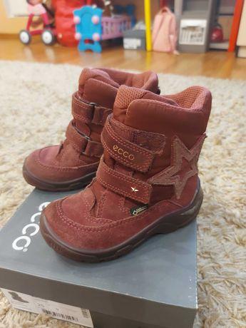 Зимние ботинки экко 25 размер